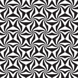 Abstract black and white seamless pattern Stock Photography