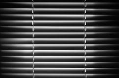 Abstract black and white shutter fragment Stock Photos