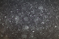Abstract black white snow texture on black background Royalty Free Stock Photos