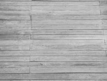 Abstract black and white stripes wooden floor background Royalty Free Stock Photography