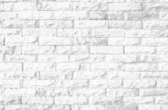 Abstract Black and White Structural Brick Wall. Panoramic Solid Surface. mosaic royalty free stock photos