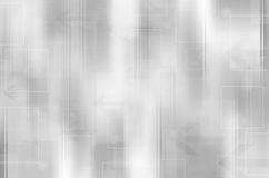 Abstract black and white tech background. Royalty Free Stock Images