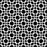 Abstract black and white textured geometric seamless pattern. Background, wallpaper, screen sever, book cover, screen printing, laser cutting designs Vector Stock Photo