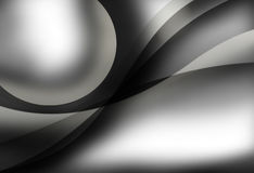 Abstract black and white Stock Image
