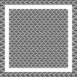 Abstract black and white triangle line pattern background vector illustration
