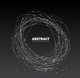 Abstract black and white vector background Royalty Free Stock Images