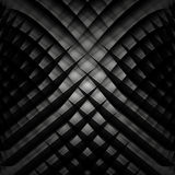 Abstract black and white vector geometric background Stock Images