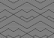 Abstract Black and White Vector Seamless Pattern Royalty Free Stock Images