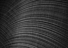 Abstract black and white wallpaper. Abstract black and white vinyl wallpaper with textured arcs. Shallow depth of field Stock Images