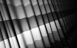 Abstract waved fabric background Royalty Free Stock Photos