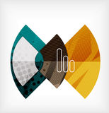 Abstract blank banner made of pieces Stock Photos
