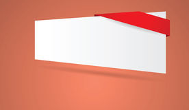 Abstract blank banner Royalty Free Stock Image