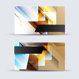 Abstract blank name card template for business artwork Royalty Free Stock Image