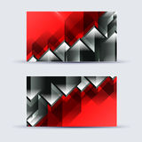 Abstract blank name card template for business artwork Stock Photo