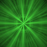 Abstract blast. Abstract concept of green blast - can be used as background stock illustration