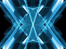 Abstract blauw vector illustratie