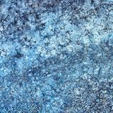 Abstract blauw Stock Afbeelding