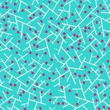 abstract blauw achtergrondkersenpatroon desgin Royalty-vrije Stock Afbeelding