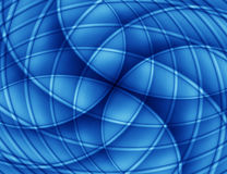 Abstract blauw als achtergrond Stock Afbeelding