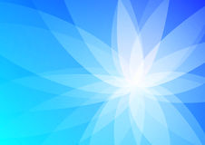 Abstract Blauw Behang Als achtergrond Royalty-vrije Stock Foto