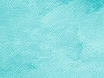 Abstract blauw document voor achtergrond, document waterverftextuur voor Stock Afbeelding