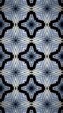Abstract blauw en zwart exclusief behang Stock Afbeeldingen