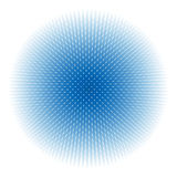 Abstract blauw gebied Stock Foto