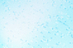 Abstract blauw gebrandschilderd glas stock illustratie