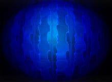 Abstract blauw glasgebied, Stock Foto's