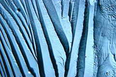 Abstract blauw koud ijs als achtergrond Royalty-vrije Stock Fotografie
