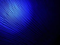 Abstract blauw licht over gelamelleerde paddestoeloppervlakte, wetenschapsdetsil Stock Foto's