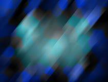 Abstract blauw mozaïek Stock Afbeelding