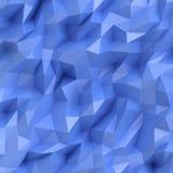 Abstract blauw mozaïek Stock Fotografie