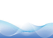 Abstract blauw patroon Stock Afbeelding