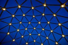 Abstract blauw patroon Royalty-vrije Stock Afbeeldingen