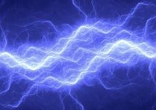 Abstract Blauw Plasma Stock Afbeeldingen