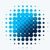 Abstract blauw vectorontwerp om elementen voor grafisch malplaatje Stock Afbeelding