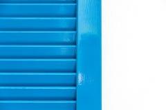 Abstract blauw venster Stock Afbeeldingen