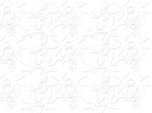 Abstract. A blend of floral design lines and dots and white background color, design / ornament pencil lines leaf / plant / flower shadow effect grayish black Stock Photos