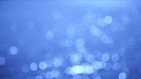 Abstract Bleu Flickers stock footage
