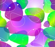 Abstract blobs water background, Vector Stock Photography
