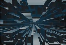 Abstract block background stock illustration