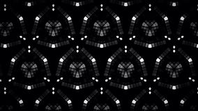 Abstract block black and white color pattern color wallpaper Stock Photos