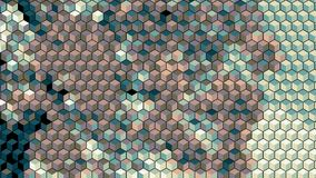 Abstract block blick graphics generated background wallpaper Royalty Free Stock Photo