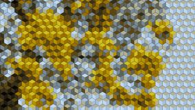 Abstract block blick graphics generated background wallpaper Stock Photo