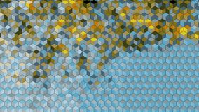 Abstract block blick graphics generated background wallpaper Stock Image