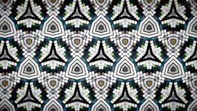Abstract block brown white and green color pattern color wallpaper Stock Photography