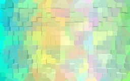 Abstract block pattern wallpaper. Royalty Free Stock Photo