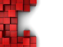 Abstract blocks background Stock Photo