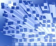 Abstract blocks Stock Photo